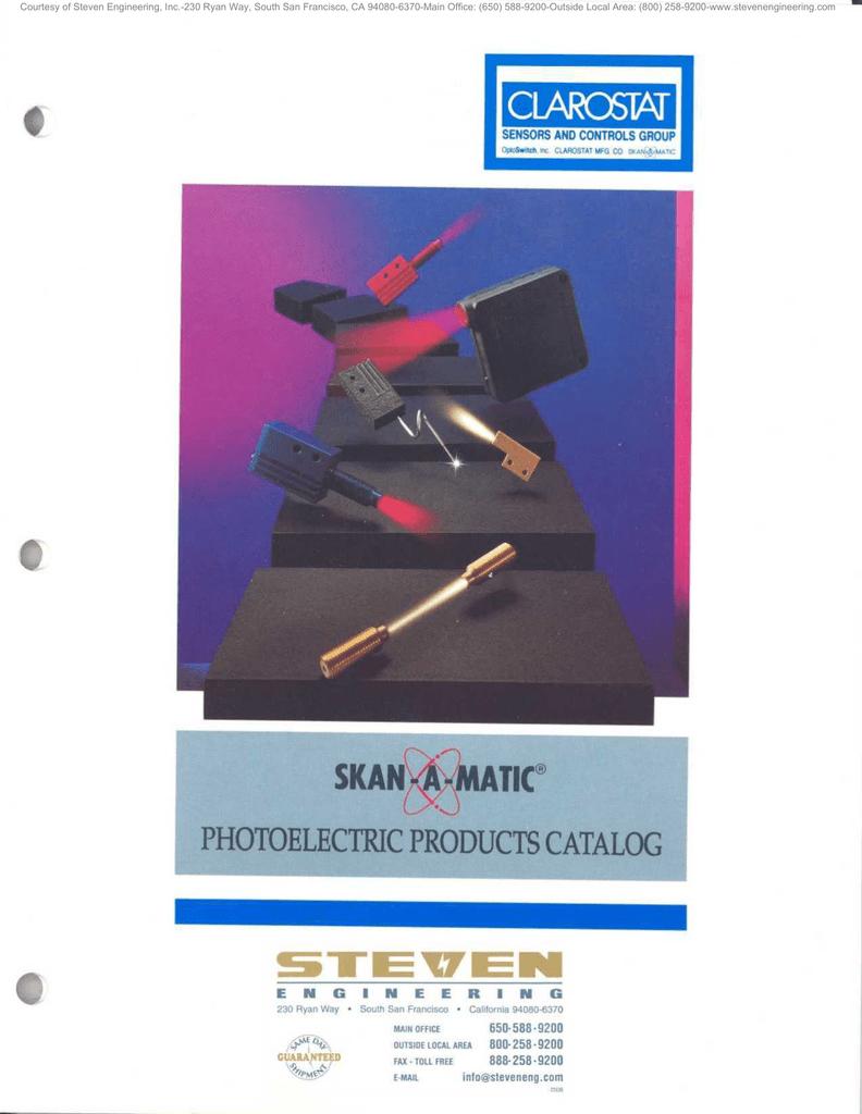 Skan A Matic Main Catalog Circuit Tester 80500 Volts Ac Dc