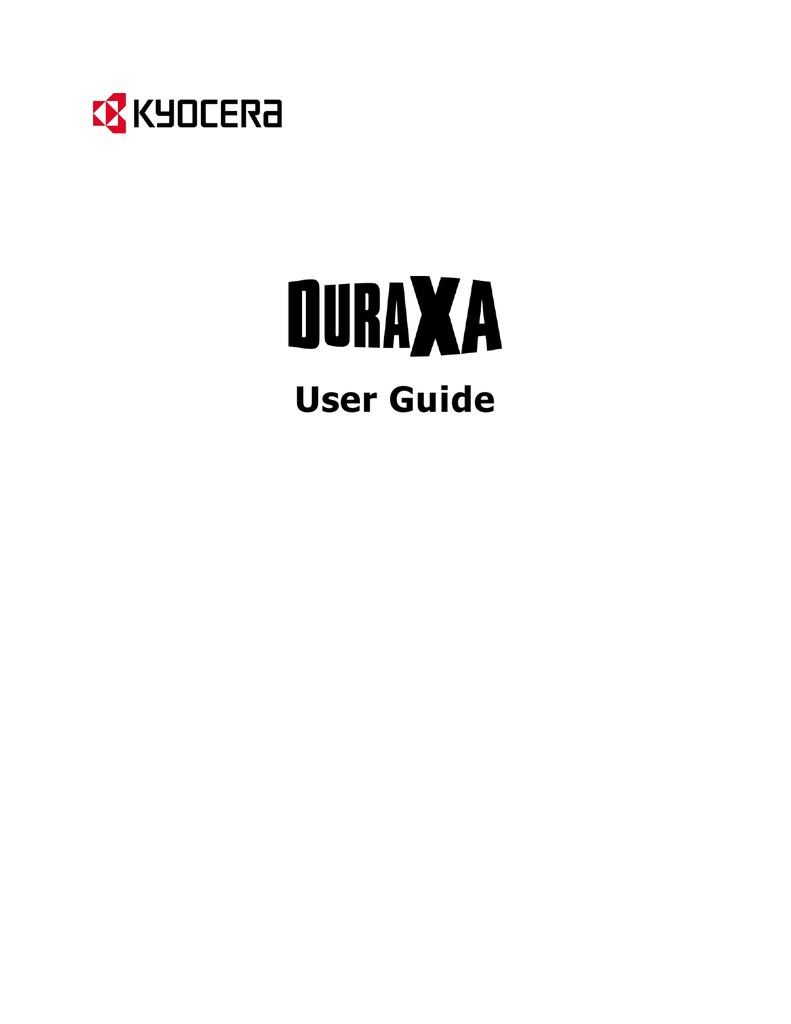 Kyocera DuraXA E4510 Manual PDF | manualzz com