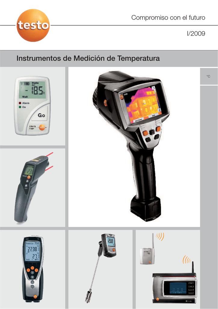 Testo 805i/ /Sonda de Term/ómetro de infrarrojos Bluetooth