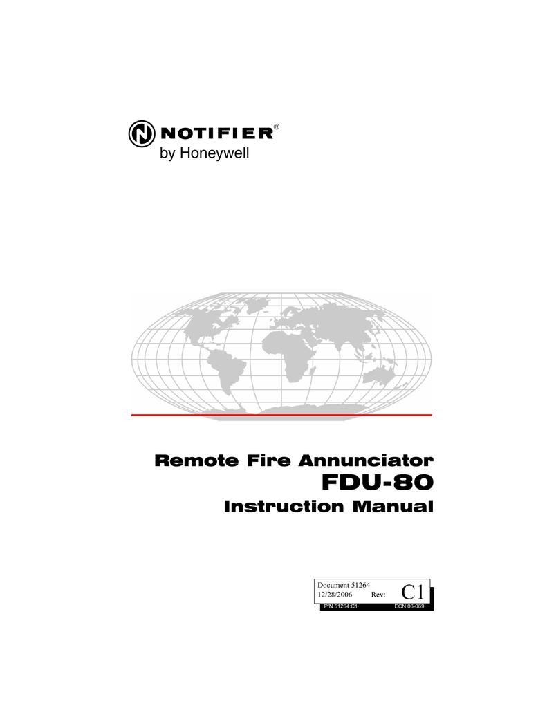 Notifier Fire Warden 100 Manual