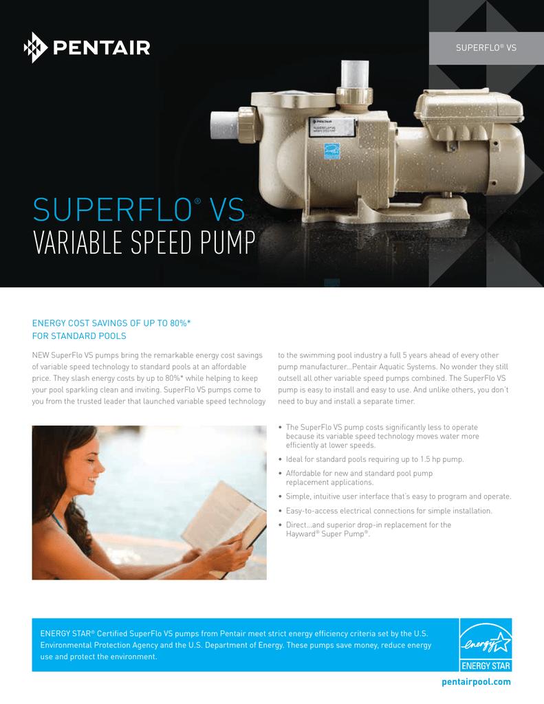 Variable Speed Pump | manualzz com