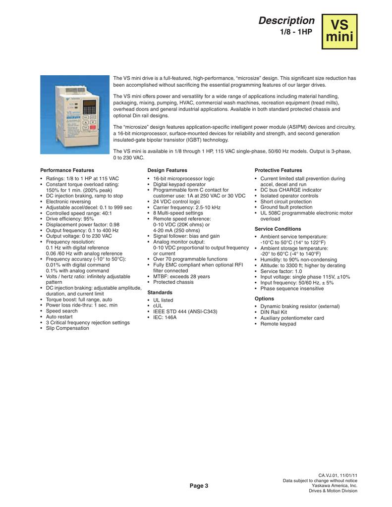 View CIMR-XCBMA0P10 PDF | manualzz com