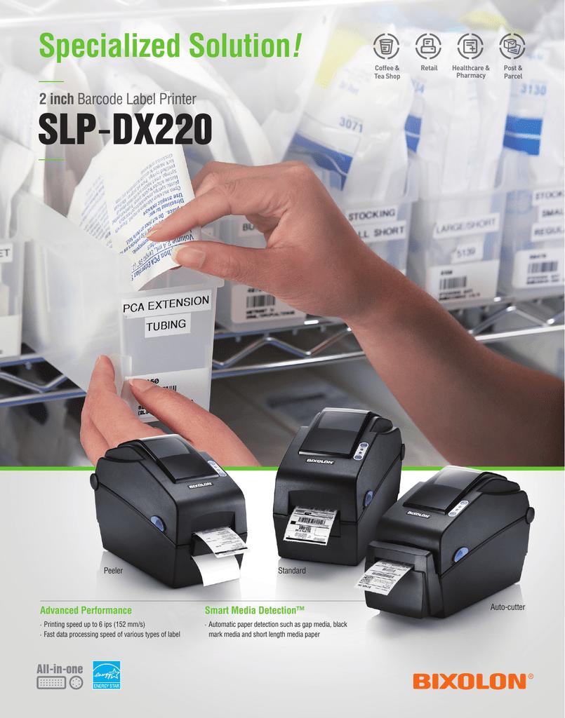 SLP-DX220 ! Specialized Solution 2 inch | Manualzz