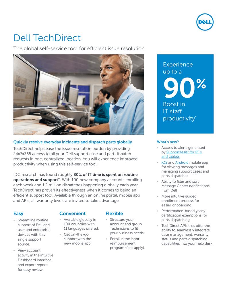 TechDirect Customer Facing Data Sheet | manualzz com
