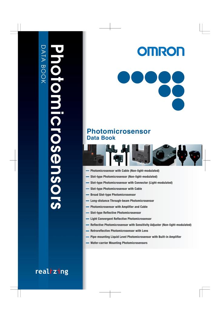 OMRON EE-SX772A Photoelectric Sensor,T-Slot,Thru-Beam