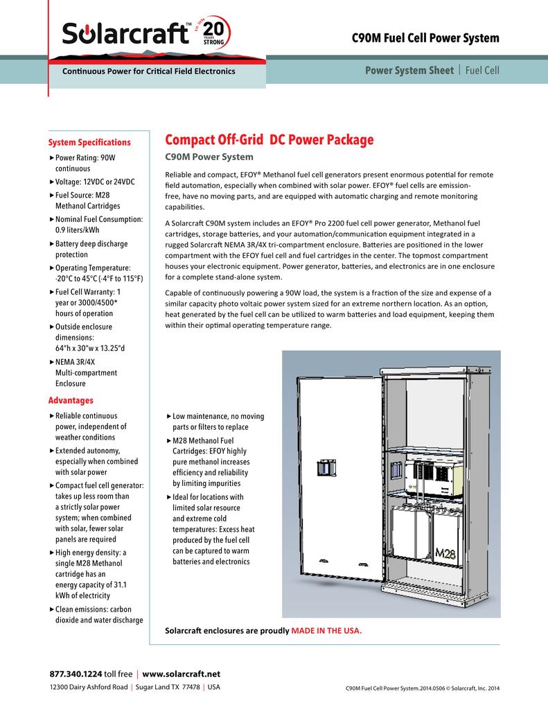 C90M Fuel Cell Power System | manualzz com