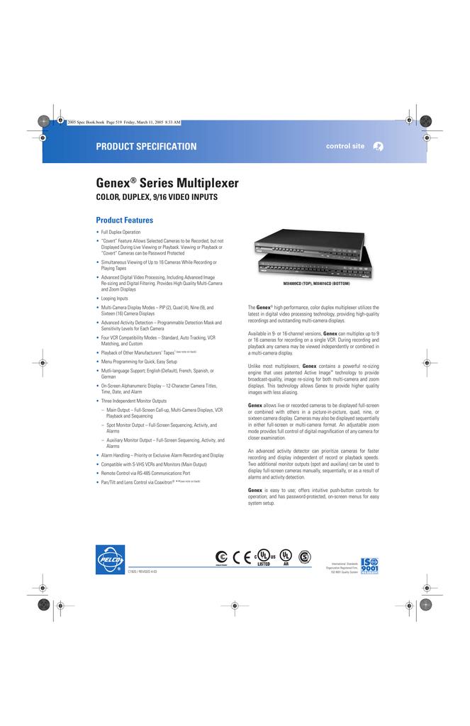 pelco kbd4000 manual