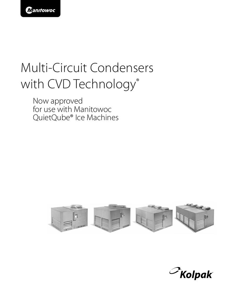 4567b multi-circuit condensers