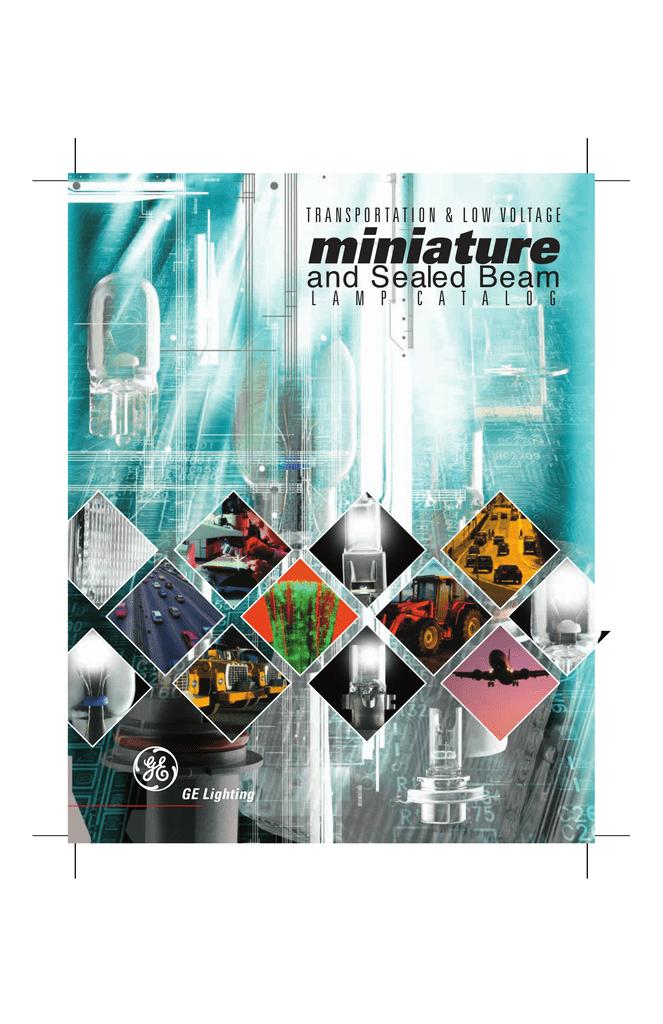 GE Miniature Bulb Catalog Resource | manualzz com