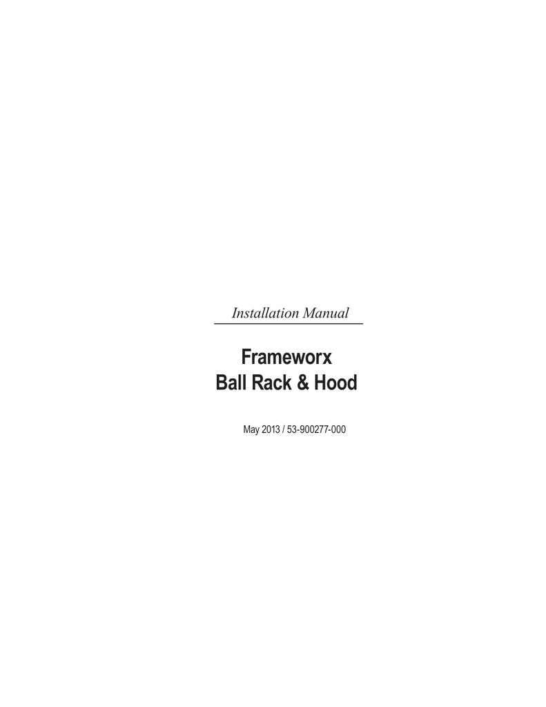 Frameworx Ball Rack &