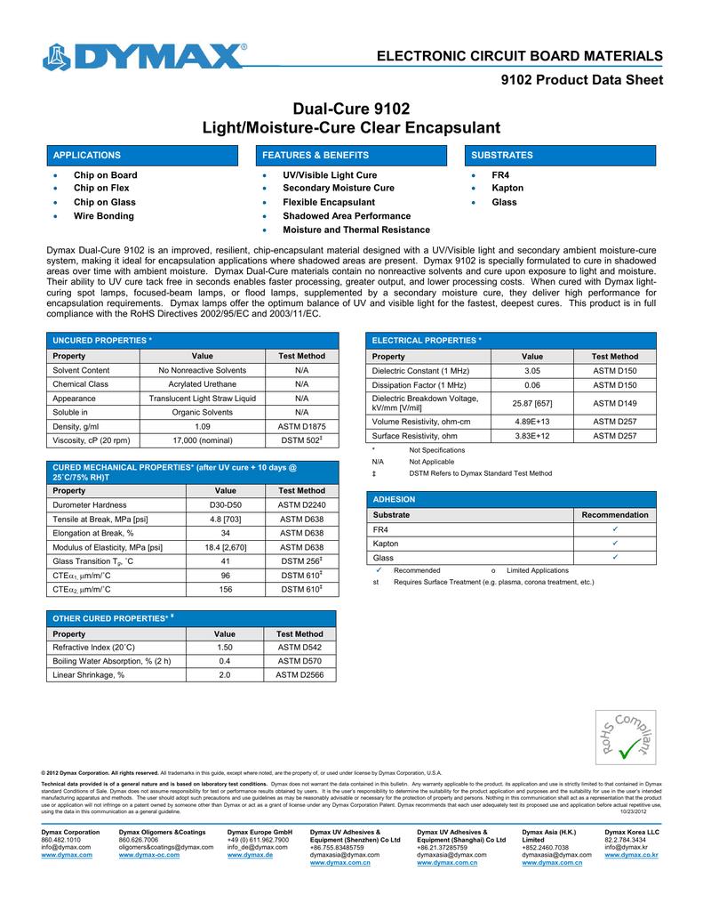 9102 Product Data Sheet   manualzz com