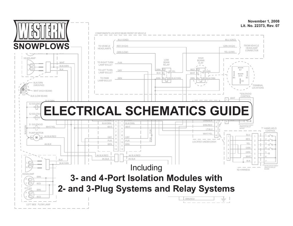 Western Wiring Schematics guide | manualzz.com on