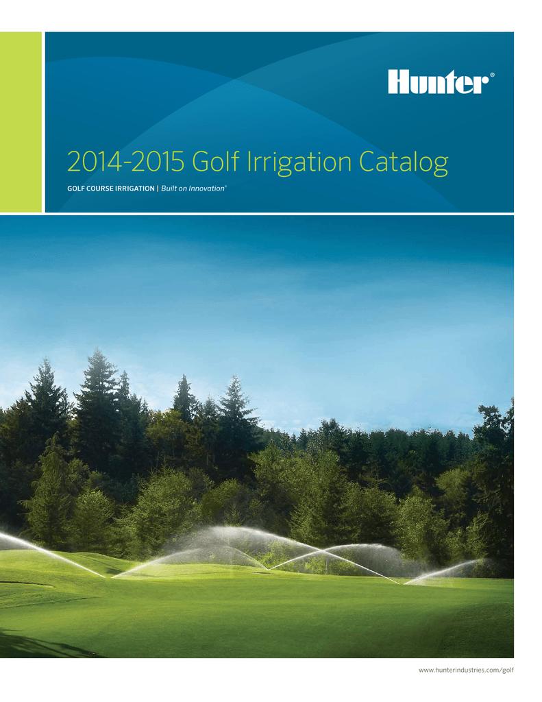 Hunter Golf Catalog