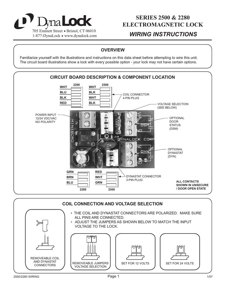 Dynalock Push Button Wiring Diagram Diagrams Emergency Stop 2500 2280 Series Manualzz Com Schematic
