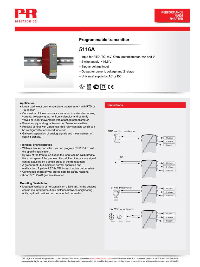 5116A - Adaptor programabil cu 2 relee | manualzz.com on