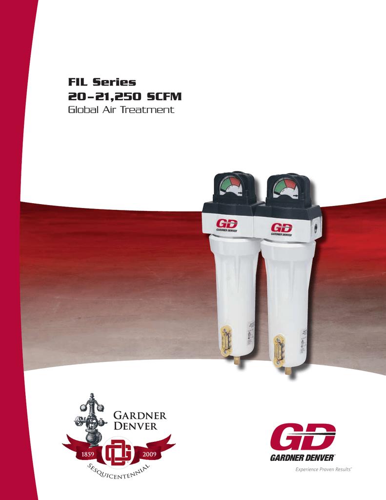 54 SCFM Filter Element Carbon