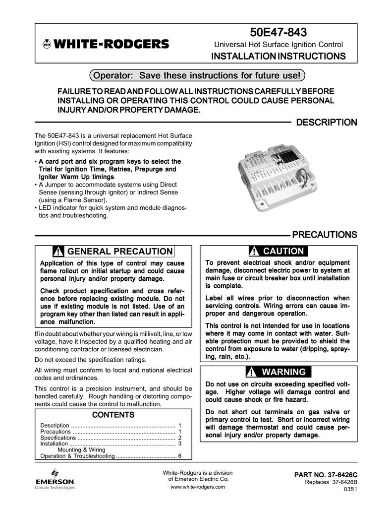 Inst Instru 50E47 | manualzz com