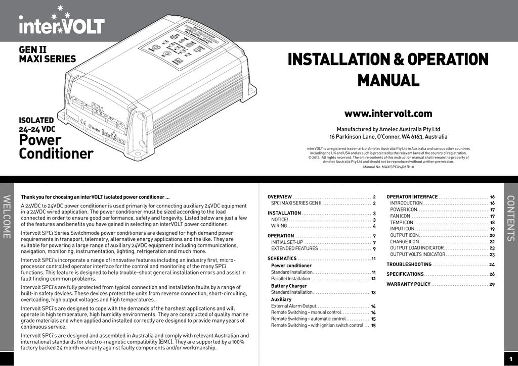 installation operation manual manualzz com rh manualzz com Generac 20 kW Installation Manual Quick Installation Guide