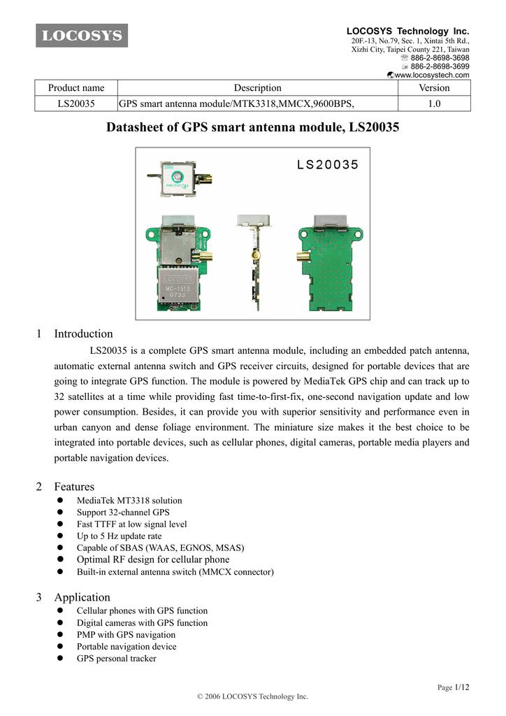 Описание модуля LS20035 ( PDF ) 384 Кб   manualzz com
