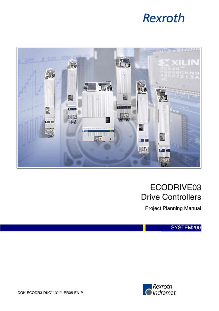 INDRAMAT REXROTH ECO DRIVE Controller DKC03.3-040-7-FW+Profibus Card