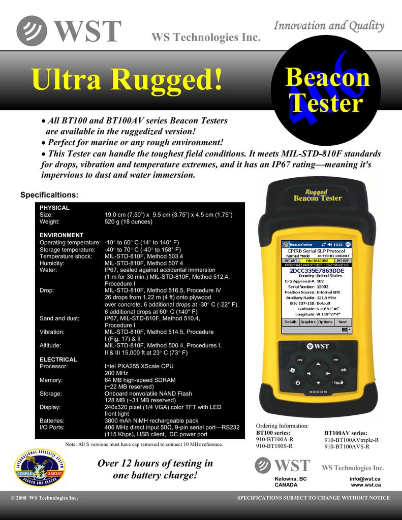 Ultra Rugged Brochure Manualzz