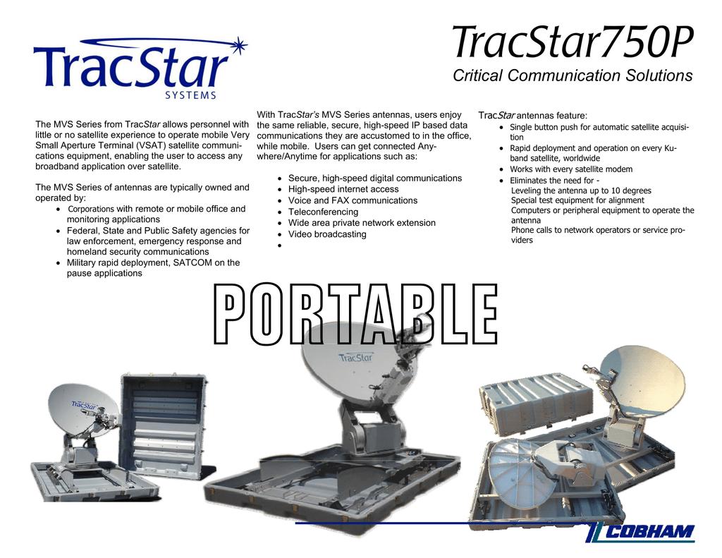 TracStar 750P Brochure | manualzz com