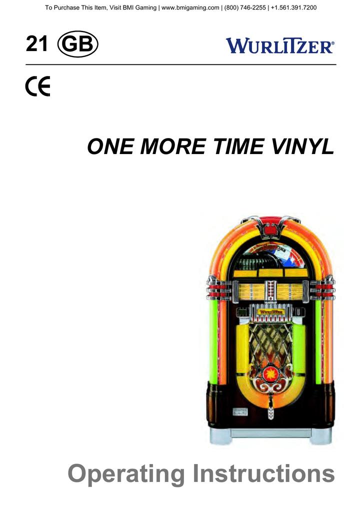 Wurlitzer 1015 45 RPM Jukebox Manual | manualzz com
