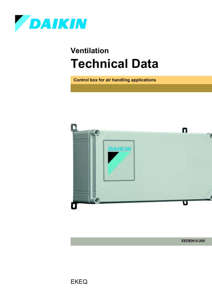 EKEQ Technical Data (EEDEN15 | manualzz.com on