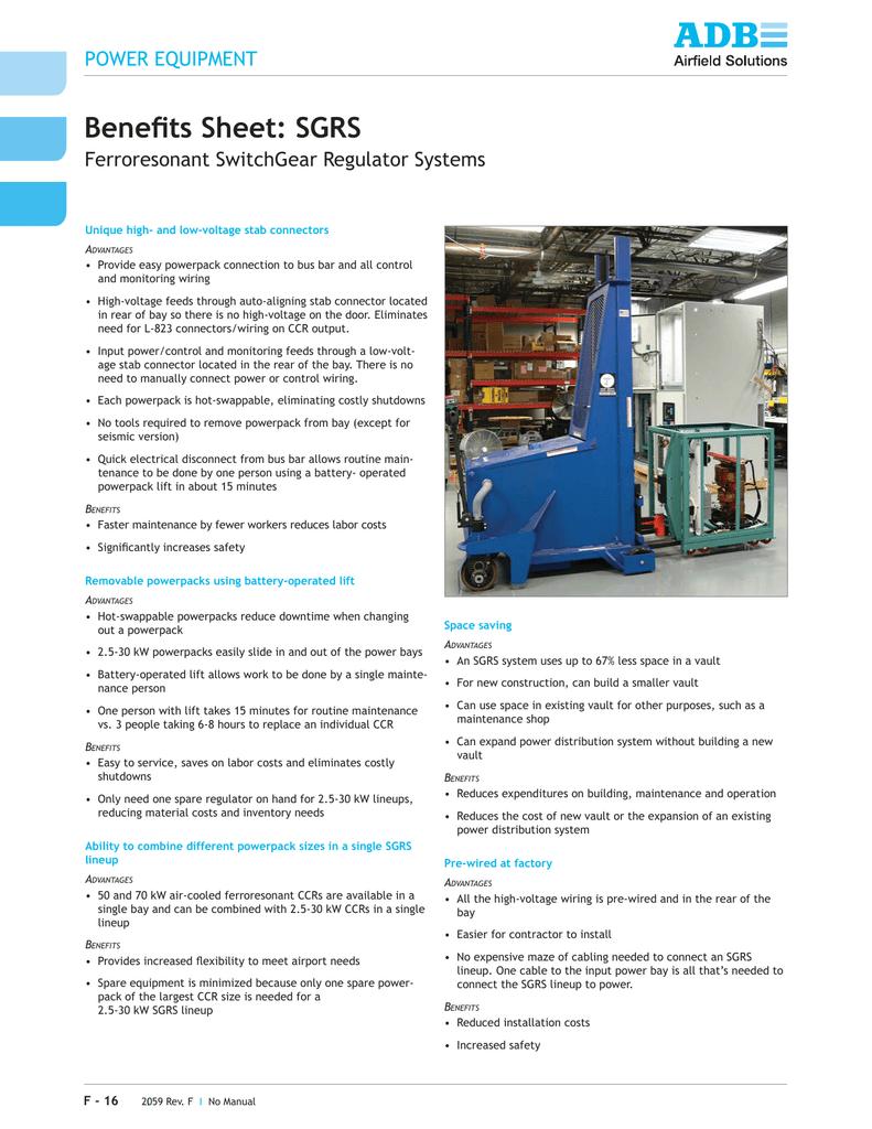 Benefits Sheet: SGRS   manualzz com