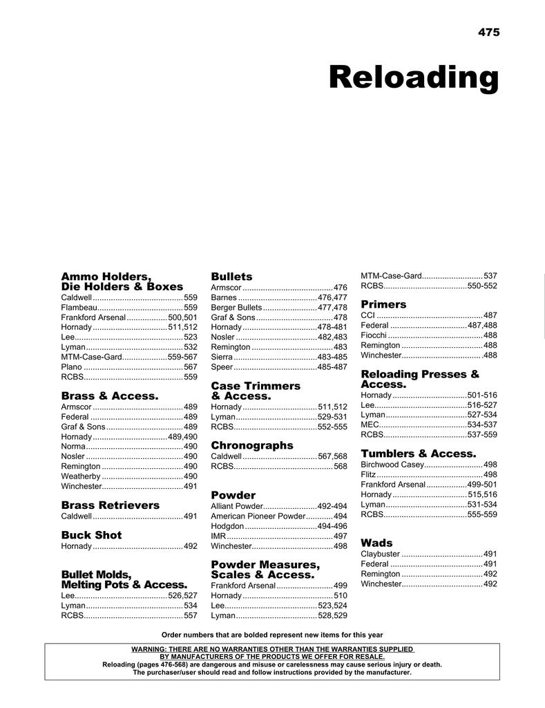 Reloading | manualzz com