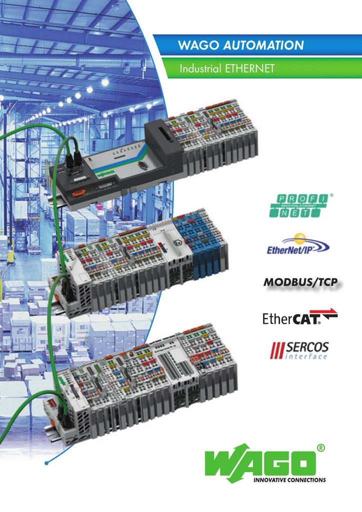 AUTOMATION Industrial ETHERNET MODBUS/TCP | manualzz com