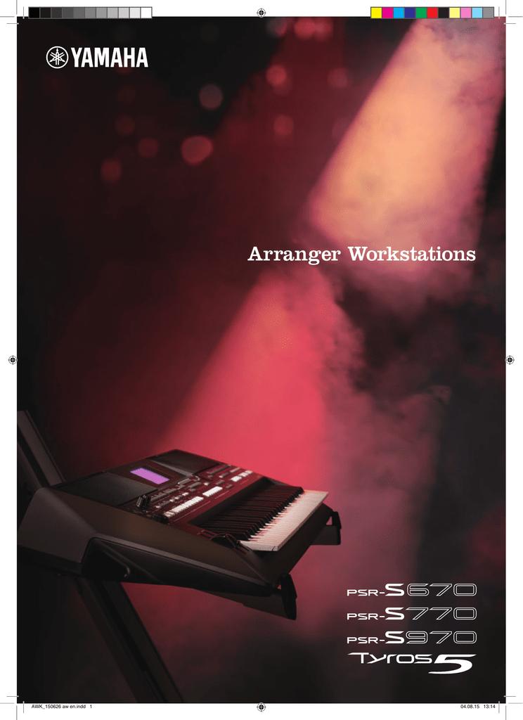 Yamaha PSR-S770 | manualzz com