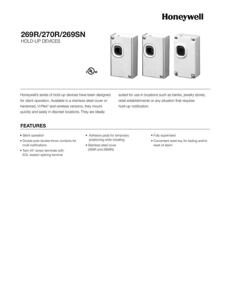 269R, 270R, 269SN Data Sheet | manualzz.com on