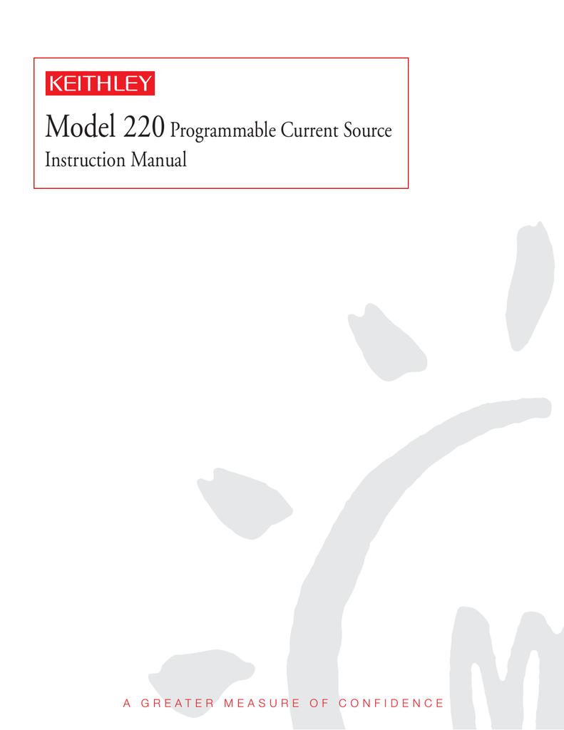 220 User's Manual