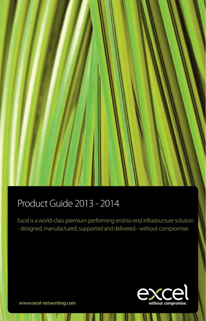 excel_product_guide_2013 | manualzz com