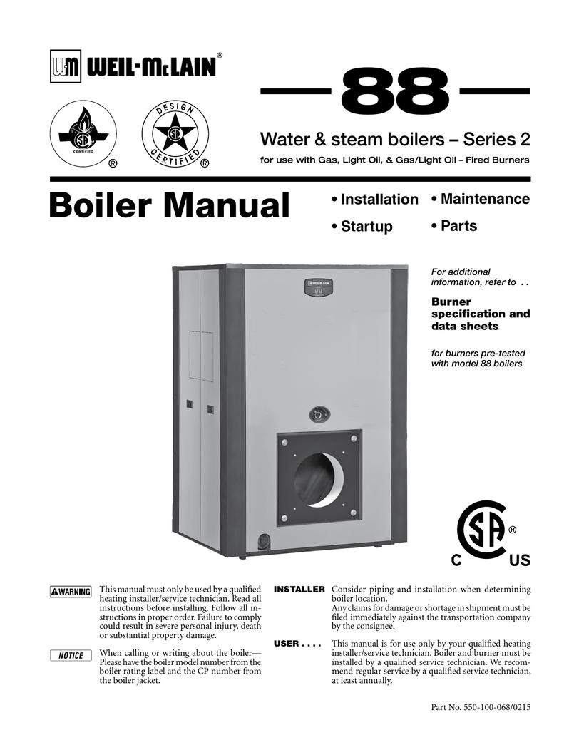88 Series 2 Boiler Manual | manualzz.com