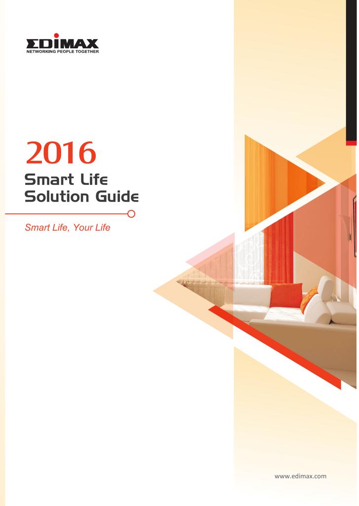 2016 Edimax Smart Life flyer EN view A4 | manualzz com