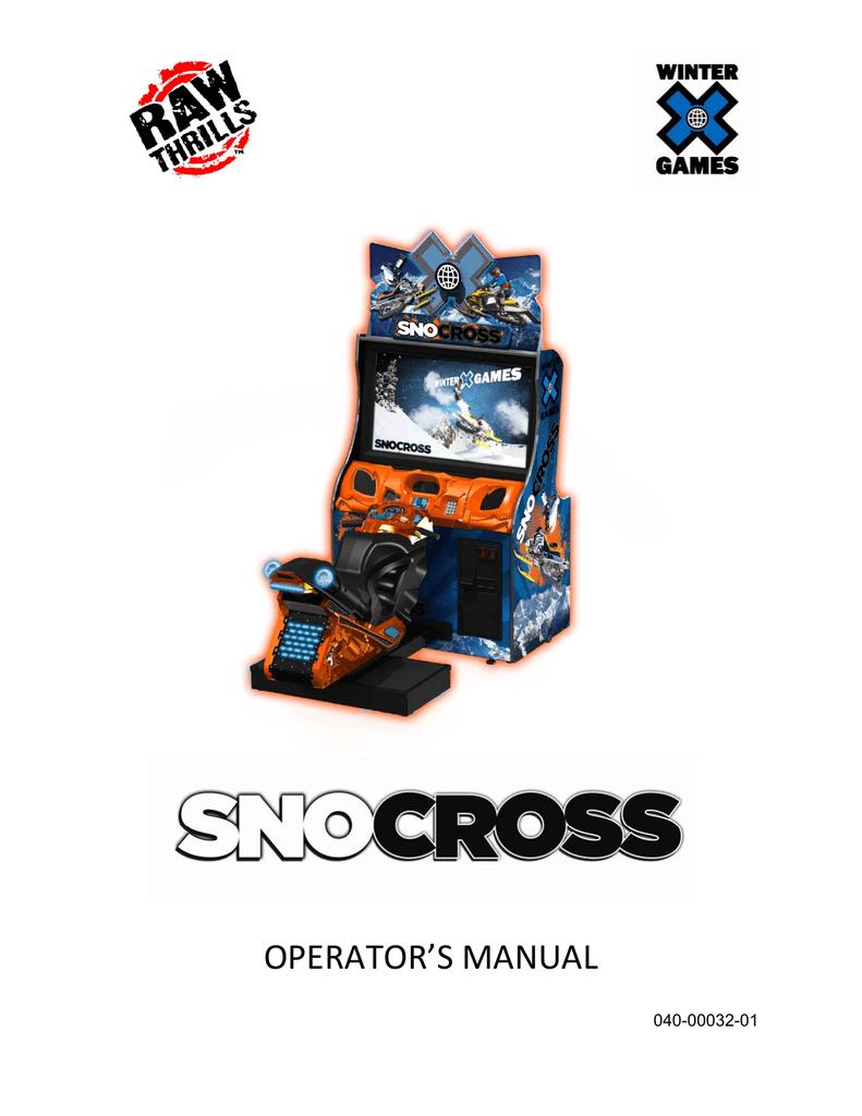 Winter X Games: SnoCross | manualzz com
