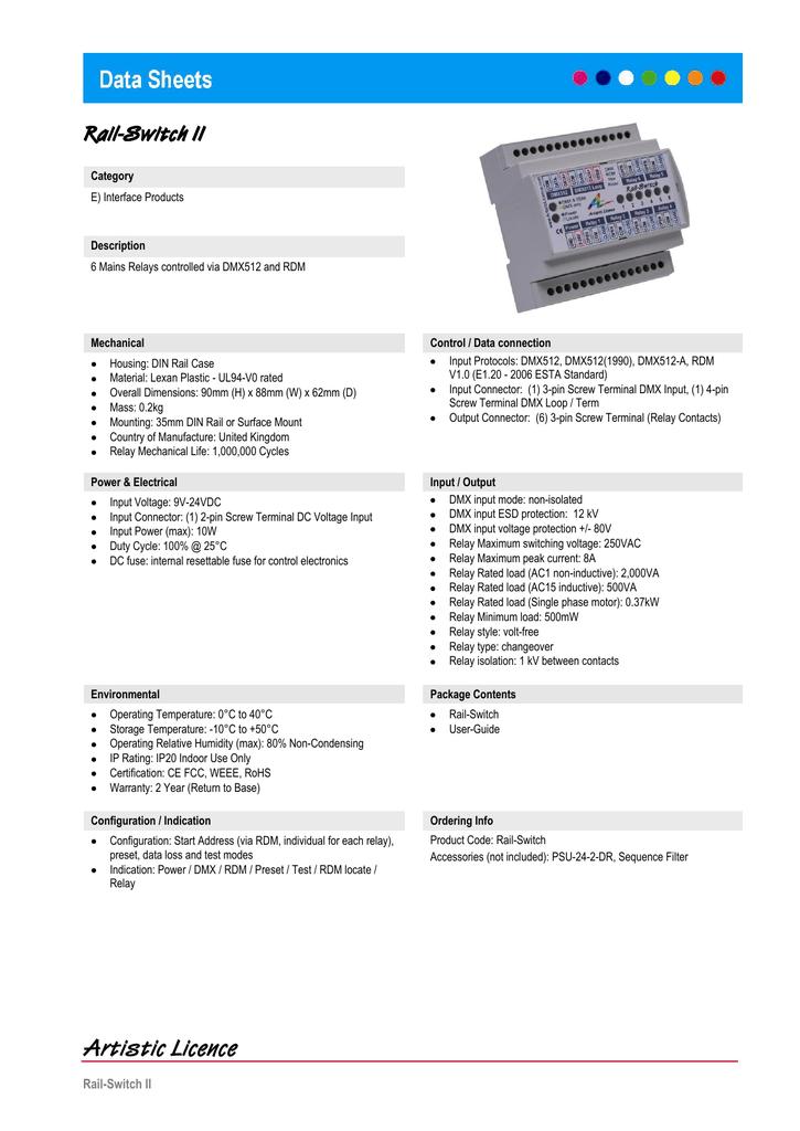 Rail-Switch II   manualzz com