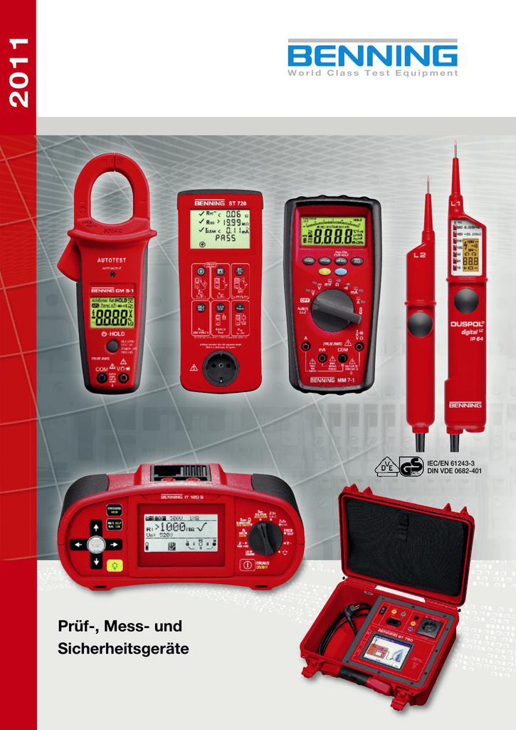 Stromzangenadapter für Multimeter Benning CC1  044037 *NEU*