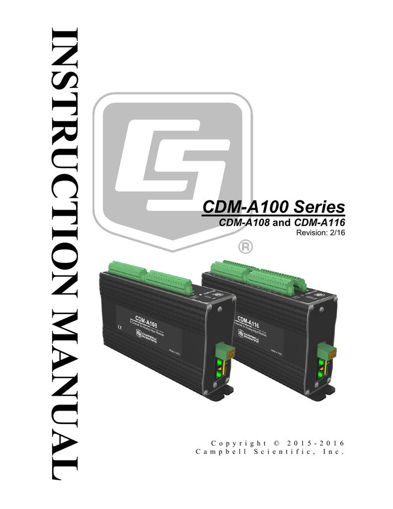 cdm a100 series