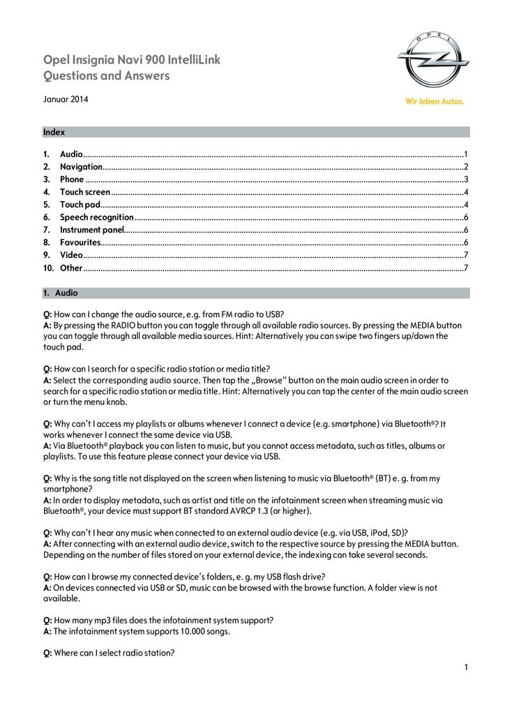 🌷 Vauxhall insignia navi 900 software update | [Insignia