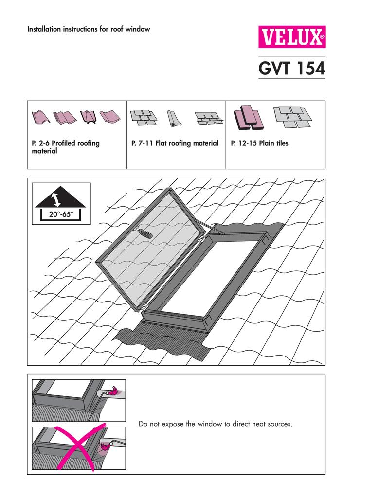 Gvt Conservation Window Installation Manualzz