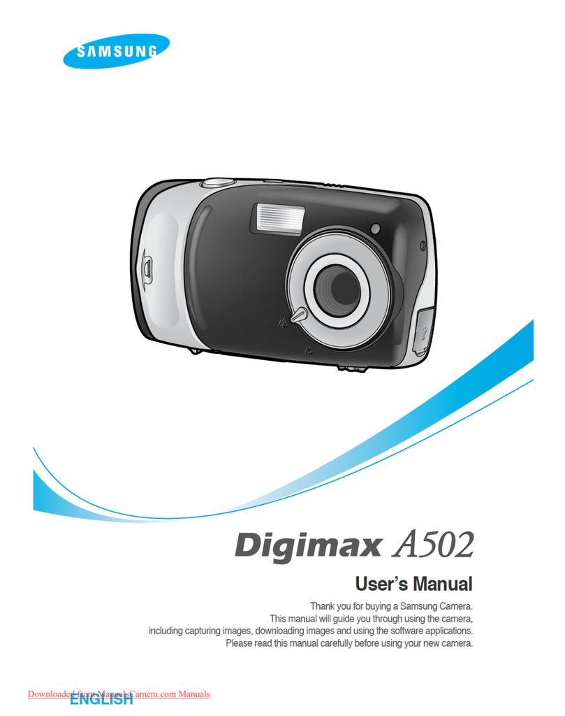 Samsung digimax a400 manual pdf.