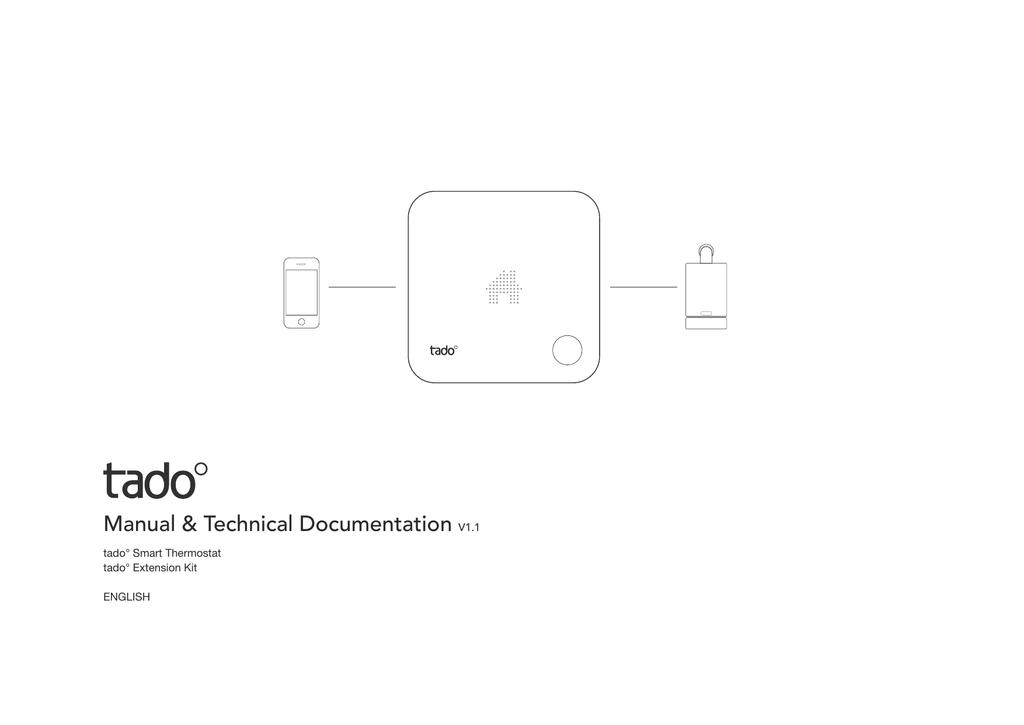 Tado Manual And Technical Documentation V1 1 Manualzz