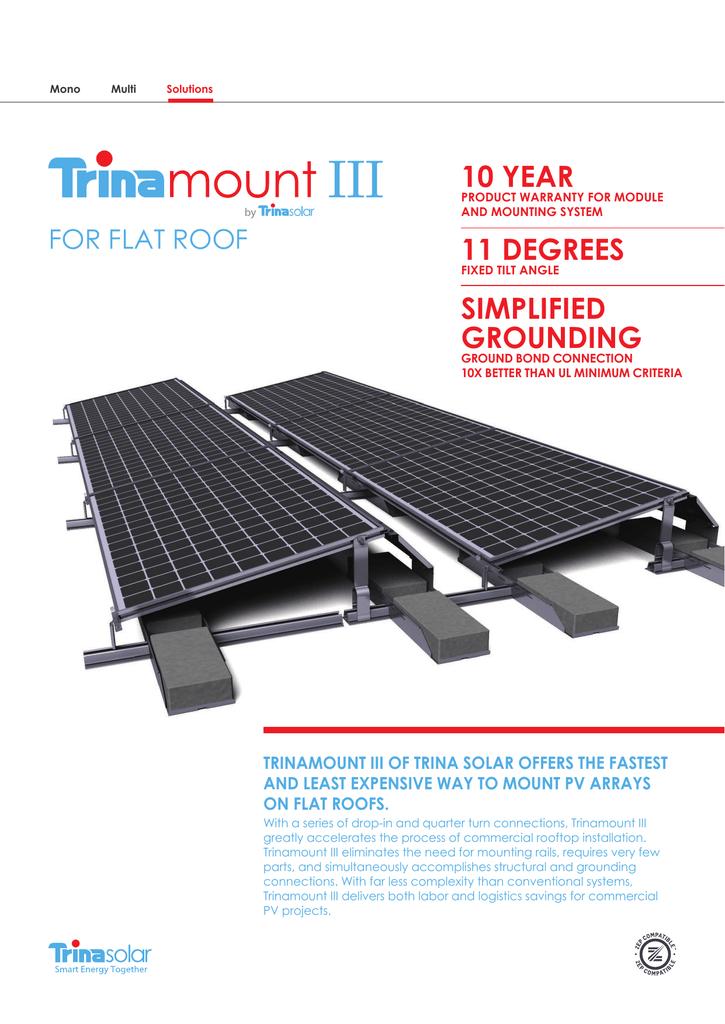 datasheet for 720077 by Trina Solar | manualzz com