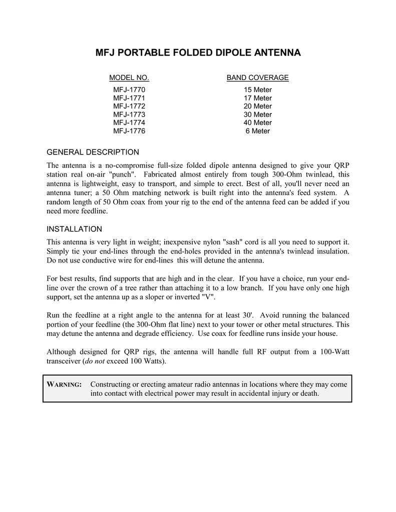 mfj-1776 | manualzz com