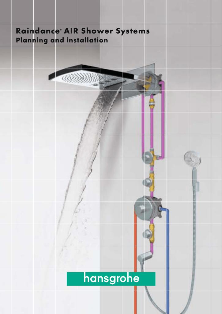 Hansgrohe Raindance Air Shower Systems