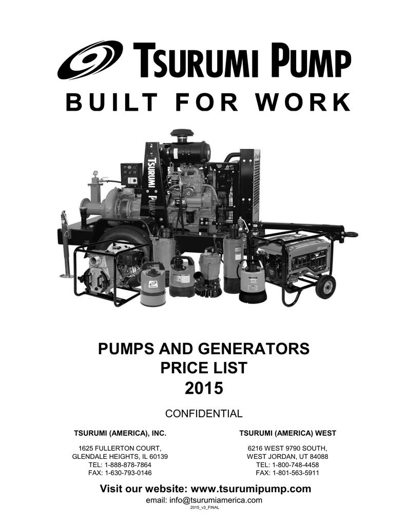 2015 PortablePump GeneratorListPricel | manualzz com
