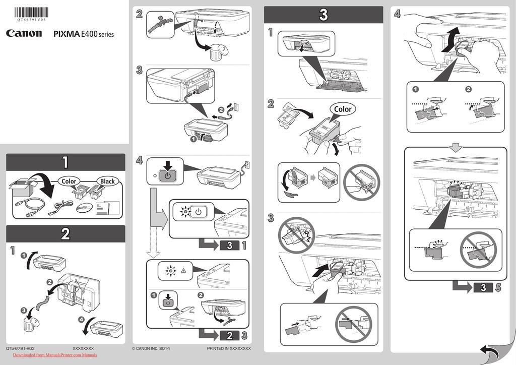 Canon Pixma E400 User Guide Manualzz